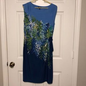 Apt 9 floral business dress, sleeveless. New tags